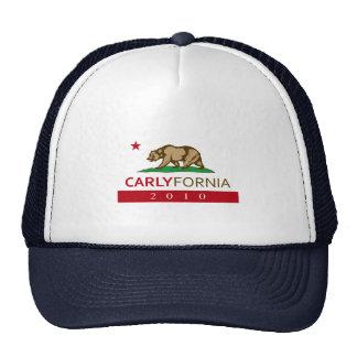 CARLYFORNIA MESH HATS
