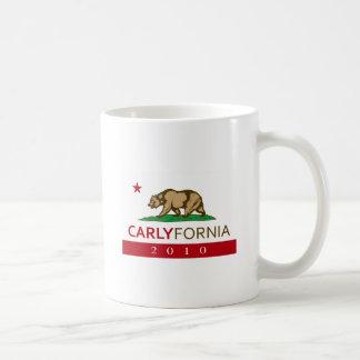 CARLYFORNIA COFFEE MUGS