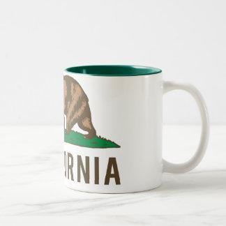 Carlyfornia Two-Tone Coffee Mug