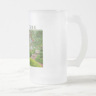 Carlyle House and Historic Garden Frosted Glass Beer Mug