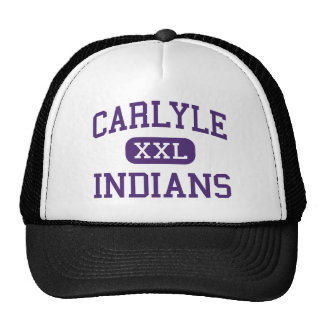 Carlyle - Indians - Junior - Carlyle Illinois Trucker Hat