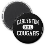 Carlynton - Cougars - High - Carnegie Pennsylvania Refrigerator Magnets