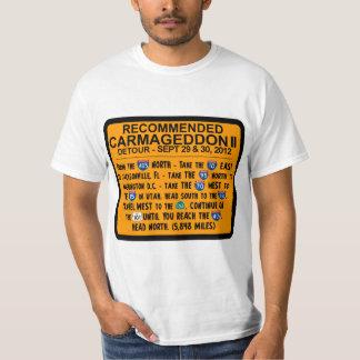 Carmageddon 2 - Desvío - cierre de Los Ángeles 405 Remeras