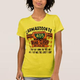 Carmageddon 2 - Los Angeles 405 Closure T-shirts