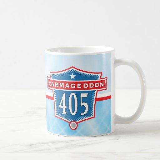 Carmageddon 405 Freeway Los Angeles Mug