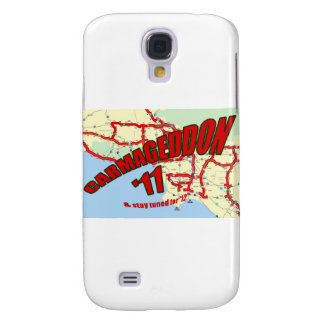 CARMAGEDDON 405 Gridlock in Los Angeles Get it now Galaxy S4 Covers
