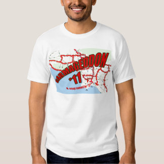 CARMAGEDDON 405 Gridlock in Los Angeles Get it now Shirts