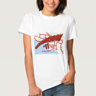 CARMAGEDDON 405 Gridlock in Los Angeles Get it now T-shirt