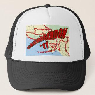 CARMAGEDDON 405 Gridlock in Los Angeles Get it now Trucker Hat