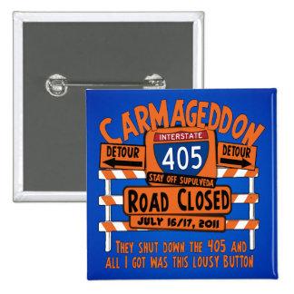 Carmageddon - 405 - Los Ángeles Pins