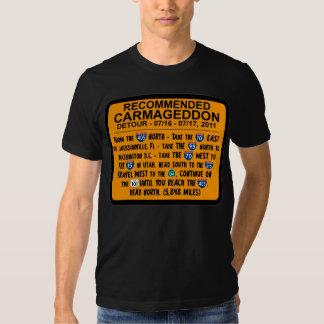 Carmageddon - desvío recomendado polera