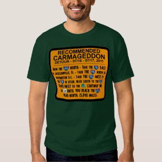 Carmageddon - desvío recomendado poleras