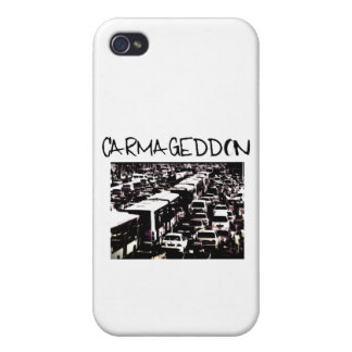carmageddon iPhone 4/4S funda