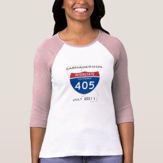 Carmageddon - julio de 2011 3/4 camiseta de la man