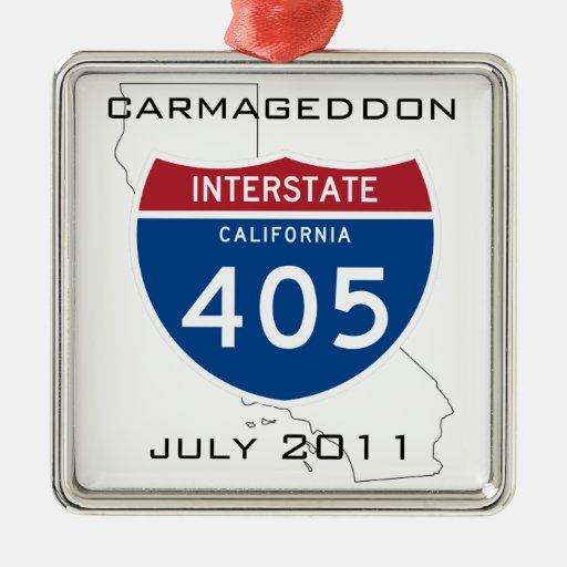 Carmageddon - July 2011 Christmas Ornament