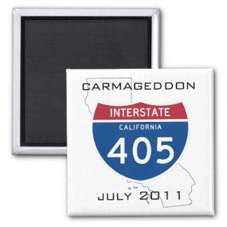 Carmageddon - July 2011 Refrigerator Magnet