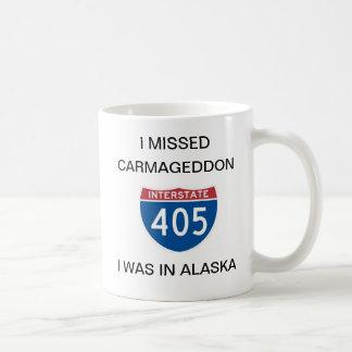 Carmageddon Classic White Coffee Mug