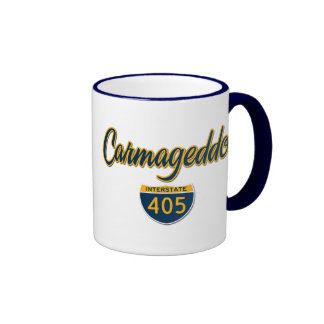Carmageddon Ringer Coffee Mug