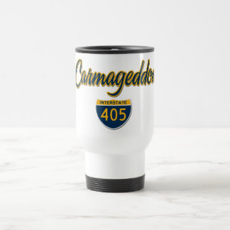 Carmageddon 15 Oz Stainless Steel Travel Mug