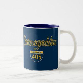 Carmageddon Two-Tone Coffee Mug