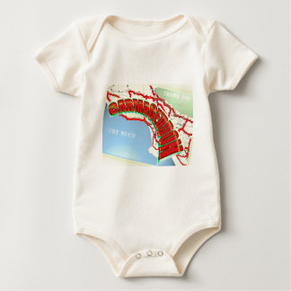 Carmageddon Will Los Angeles Freeways be the same? Baby Bodysuit
