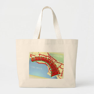 Carmageddon Will Los Angeles Freeways be the same? Large Tote Bag