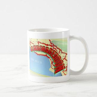 Carmageddon Will Los Angeles Freeways be the same? Classic White Coffee Mug