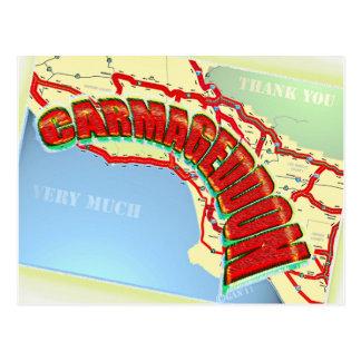 Carmageddon Will Los Angeles Freeways be the same? Postcards