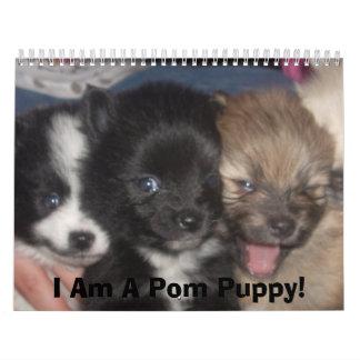 Carma's Pomeranian's Calendar