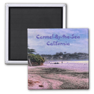 Carmel Beach California Central Coast Magnet