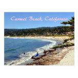 Carmel Beach California Postcard