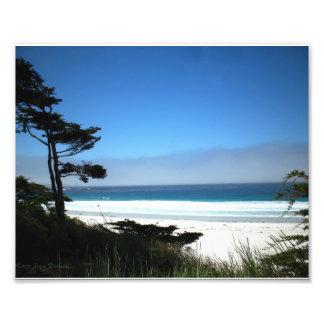 Carmel Beach, California, USA Art Photo