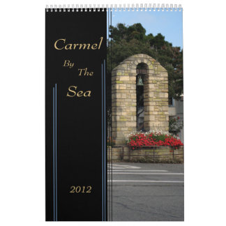 Carmel By The Sea 2012 calendar