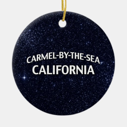Carmel-by-the-Sea California Christmas Ornaments