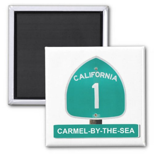 Carmel_By_The_Sea California Highway 1 Magnet