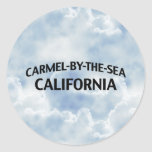 Carmel-by-the-Sea California Round Stickers