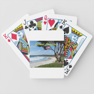 CARMEL BY THE SEA - MONTEREY CALIFORNIA USA BICYCLE PLAYING CARDS