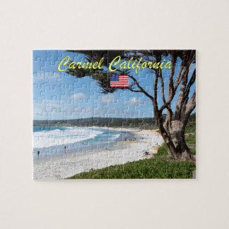 CARMEL BY THE SEA - MONTEREY CALIFORNIA USA JIGSAW PUZZLE