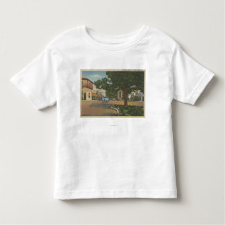 Carmel, CA - Business District View of Downtown Toddler T-shirt