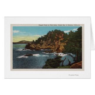 Carmel, CA - Rugged Coast on Point Lobos Card