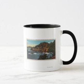 Carmel, CA - Rugged Coast on Point Lobos Mug