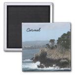 Carmel, California 2 Inch Square Magnet