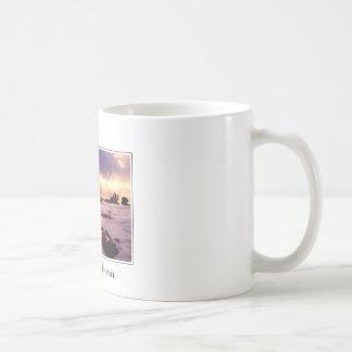 Carmel California Beach Scene Coffee Mug