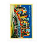 Carmel, California - Large Letter Scenes Post Card