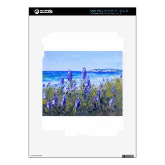 Carmel California, playa, altramuces, arte del iPad 3 Skin