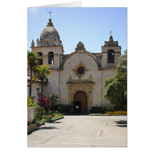 Carmel Mission Basilica Card