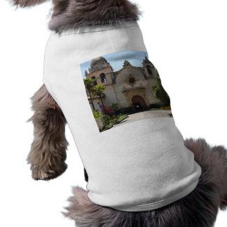 Carmel Mission Basilica Dog T-shirt