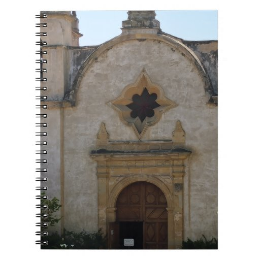 Carmel Mission Basilica Spiral Note Books