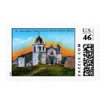 Carmel Mission Postage Stamps