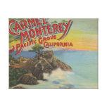 Carmel, Monterey, & Pacific Grove, CA - Welcomes Canvas Print